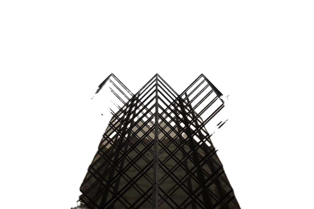 low-angle view of high-rise building