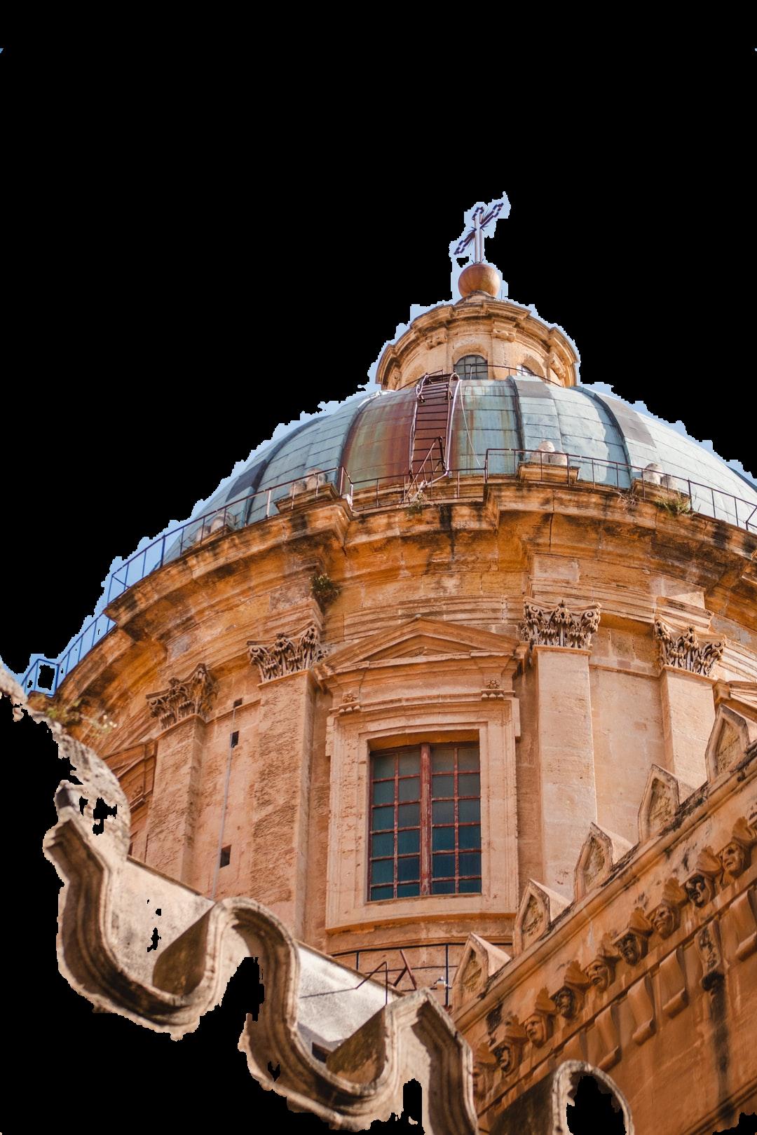 brown dome church