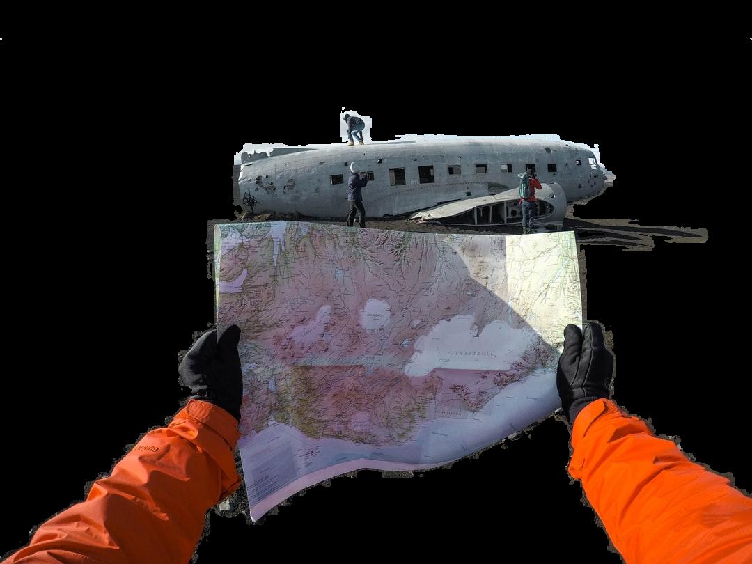 world map on hand
