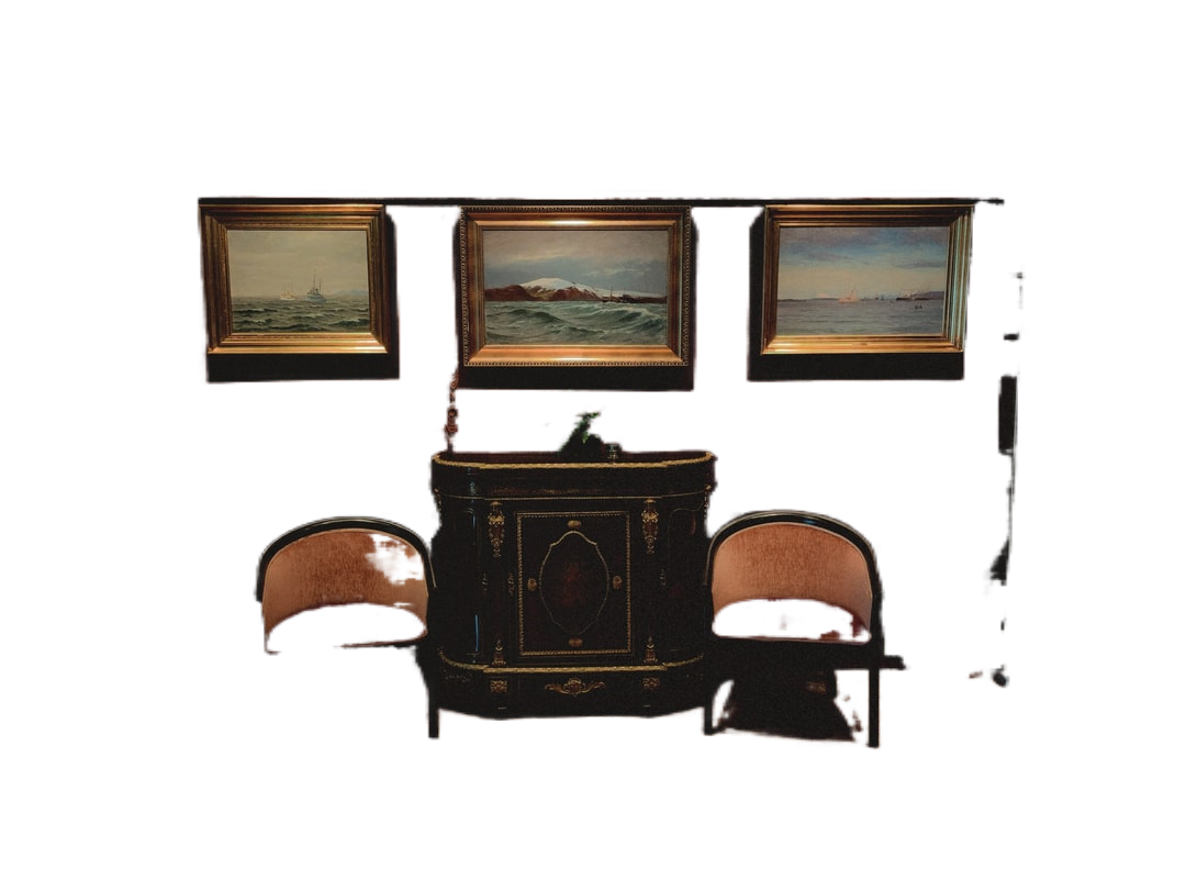 brown wooden chair near brown wooden framed glass window