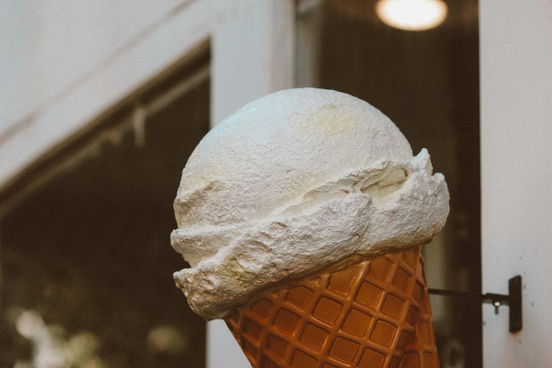 ice cream cone with cone